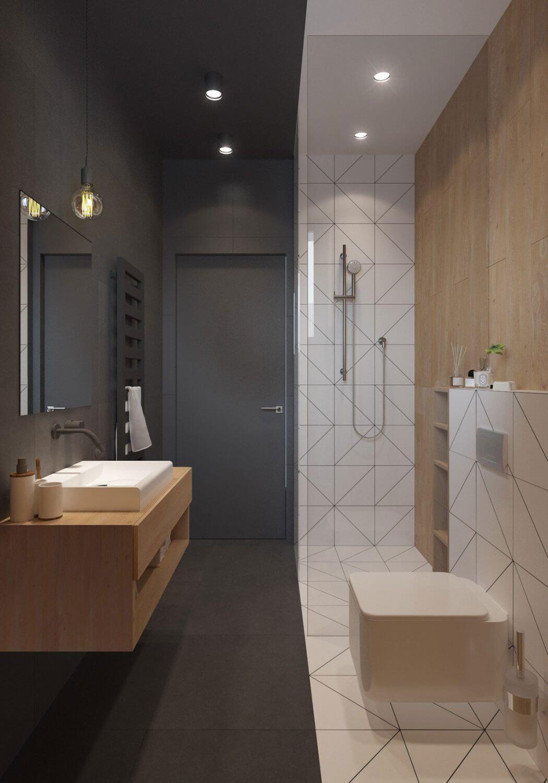30 идей для современного оформления ванных комнат 17   Дока-Мастер