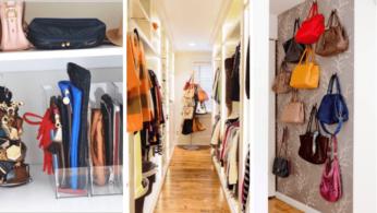 15 идей хранения сумок и кошельков 4 | Дока-Мастер