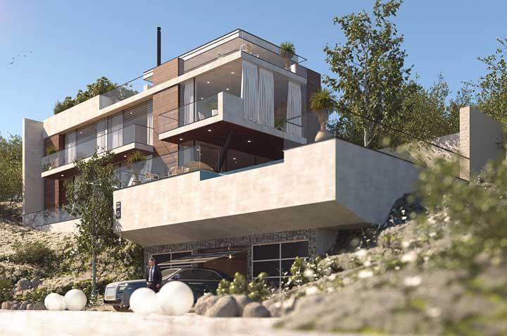 96 современных домов в которых вы захотите жить 14 | Дока-Мастер