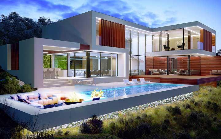96 современных домов в которых вы захотите жить 15 | Дока-Мастер