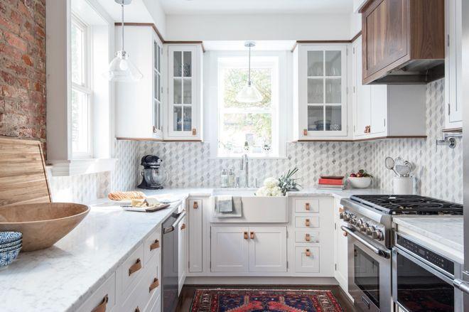 Где должен начинаться и заканчиваться кухонный фартук 17 | Дока-Мастер