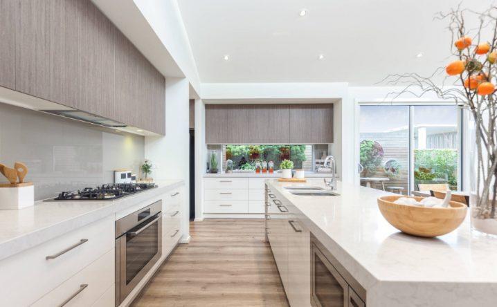 Идеи двухцветных шкафов для кухни 2 | Дока-Мастер