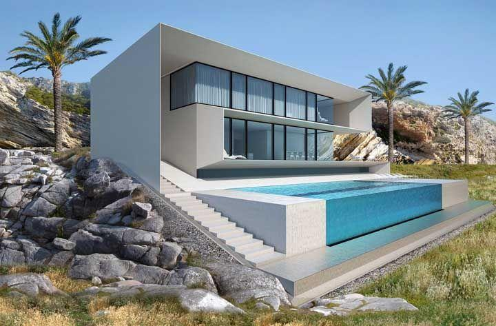 96 современных домов в которых вы захотите жить 30 | Дока-Мастер