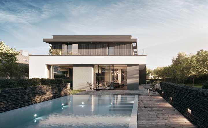 96 современных домов в которых вы захотите жить 4 | Дока-Мастер
