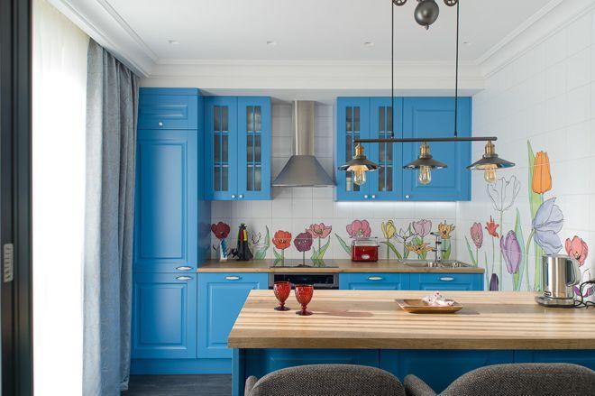 Где должен начинаться и заканчиваться кухонный фартук 7 | Дока-Мастер