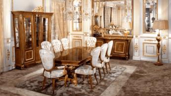 Итальянская мебель в классическом стиле для гостиной 4 | Дока-Мастер