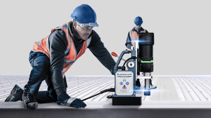 Немецкая магнитная дрель: высокопроизводительный агрегат для различных ситуаций 1   Дока-Мастер