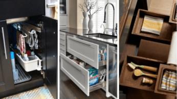 Как использовать пространство под кухонной раковиной на 100% 2 | Дока-Мастер