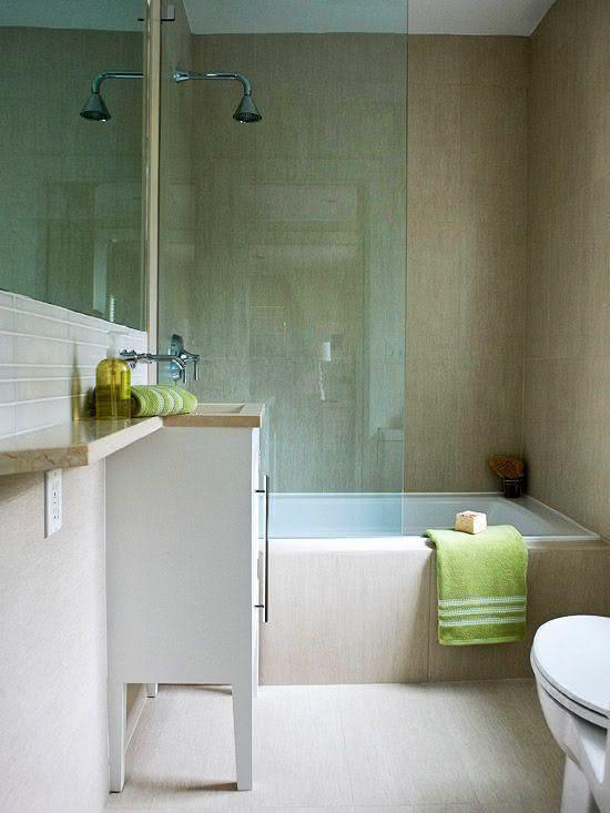 30 идей маленьких ванных комнат 13