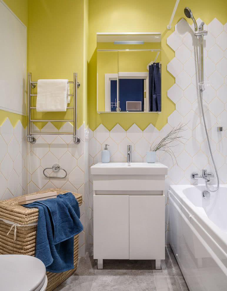 30 идей маленьких ванных комнат 15