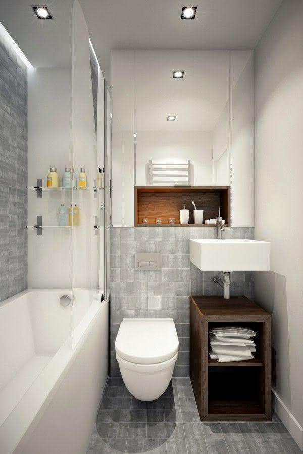 30 идей маленьких ванных комнат 16