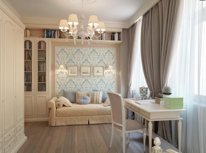 Квартира в Санкт-Петербурге в традиционном стиле 2   Дока-Мастер