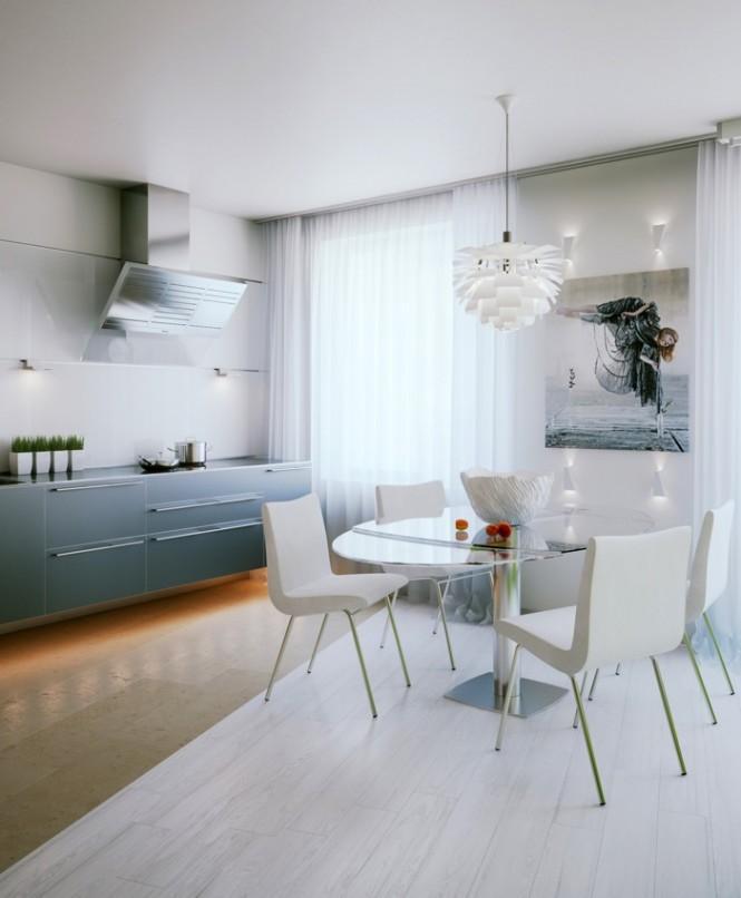 Дизайн маленькой питерской квартиры 02