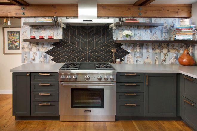 Смелые кухонные фартуки 23   Дока-Мастер