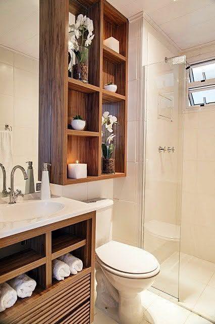 30 идей маленьких ванных комнат 29