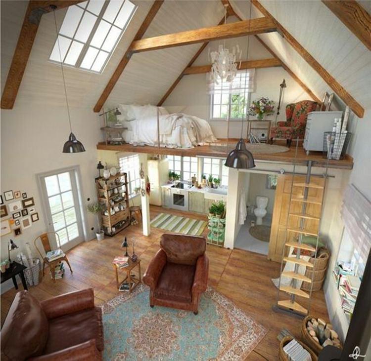 45 идей дизайна, позаимствованных в маленьких домах 38   Дока-Мастер