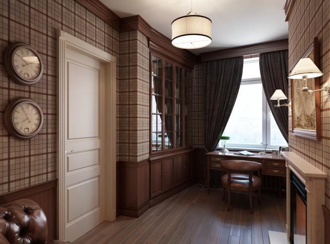 Квартира в Санкт-Петербурге в традиционном стиле 5   Дока-Мастер