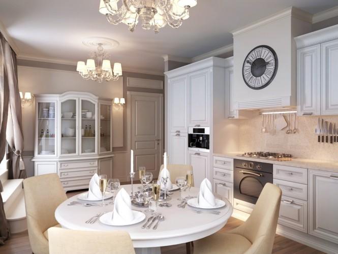 Квартира в Санкт-Петербурге в традиционном стиле 9   Дока-Мастер