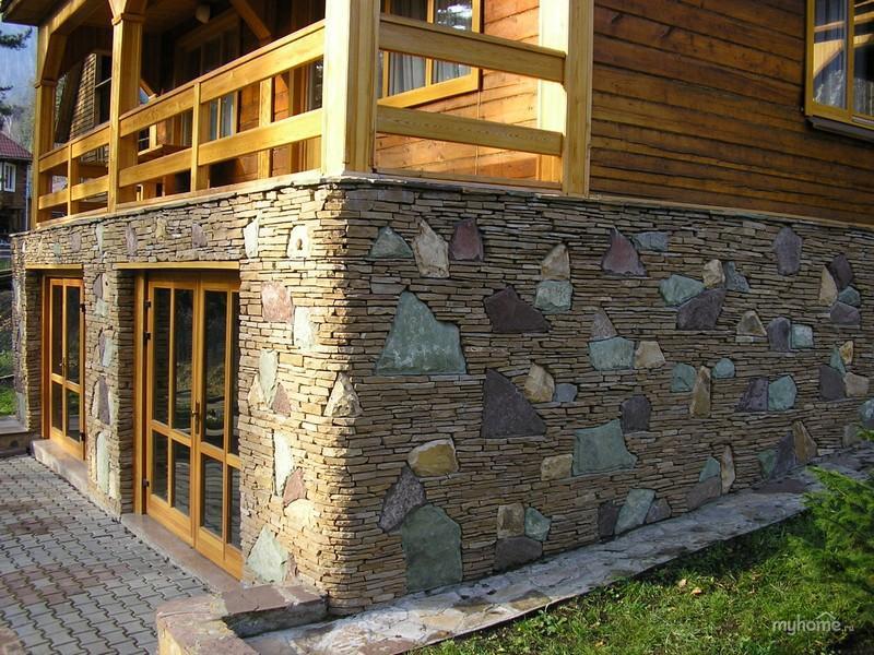 Натуральный камень — лучший материал для облицовки цоколя 2 | Дока-Мастер