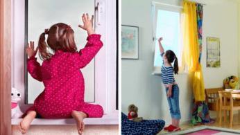 окна в детскую