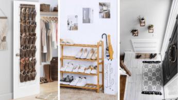 Хранение обуви в доме: 20 способов 1 | Дока-Мастер