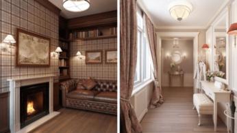 Квартира в Санкт-Петербурге в традиционном стиле 1 | Дока-Мастер