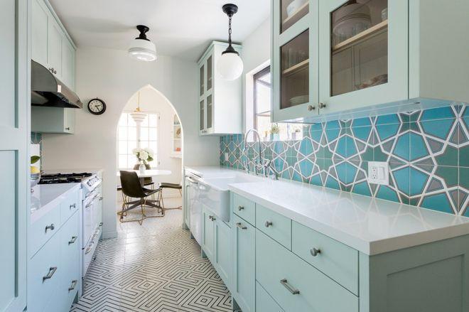 5 узких кухонь, которые действительно работают 1 | Дока-Мастер