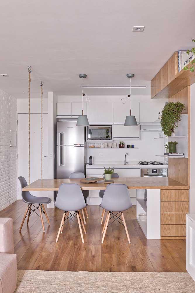 Стол у стены 30 идей для небольшой квартиры 10 | Дока-Мастер