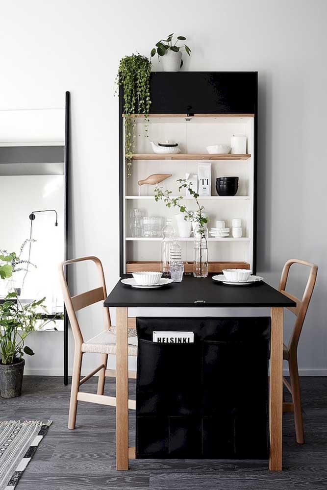 Стол у стены 30 идей для небольшой квартиры 11 | Дока-Мастер