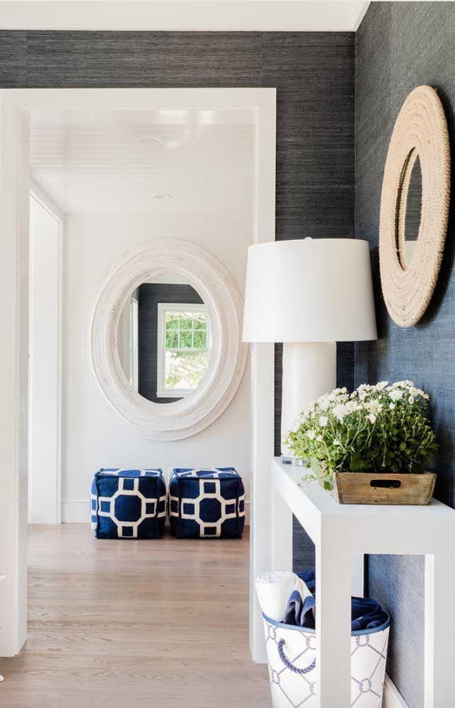 Круглое зеркало в интерьере, как использовать в декоре 15