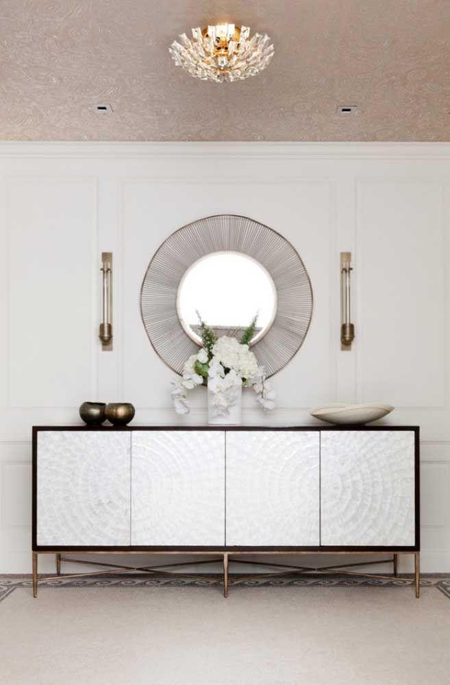 Круглое зеркало в интерьере, как использовать в декоре 16