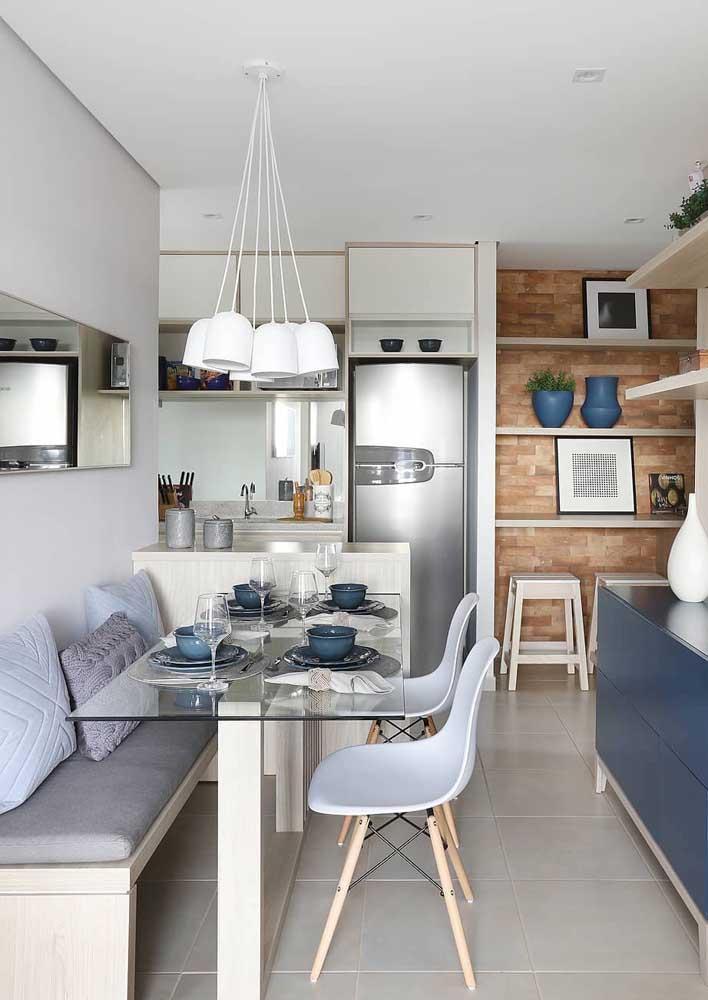 Стол у стены 30 идей для небольшой квартиры 16 | Дока-Мастер