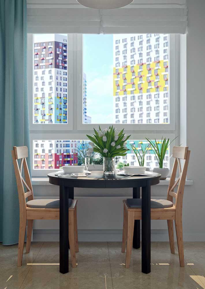 Стол у стены 30 идей для небольшой квартиры 17 | Дока-Мастер