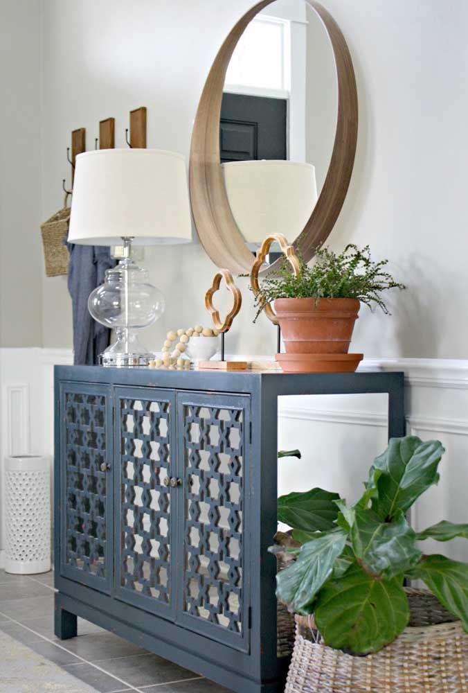 Круглое зеркало в интерьере, как использовать в декоре 19