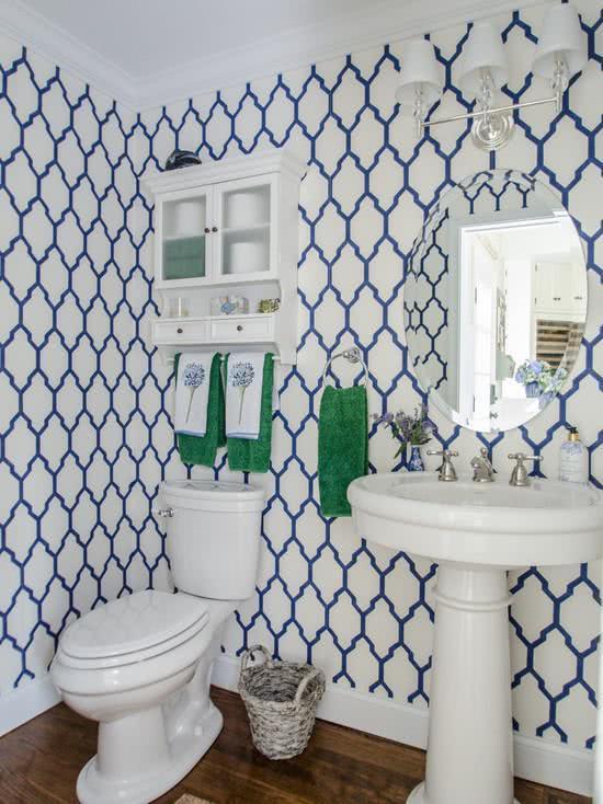 Обои для ванной комнаты 19 | Дока-Мастер