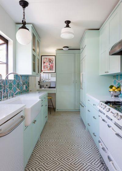 5 узких кухонь, которые действительно работают 2 | Дока-Мастер