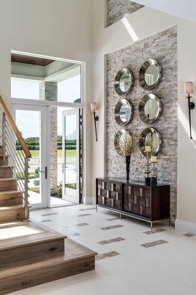 Круглое зеркало в интерьере, как использовать в декоре 20