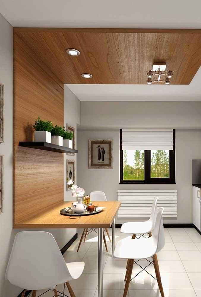 Стол у стены 30 идей для небольшой квартиры 20 | Дока-Мастер