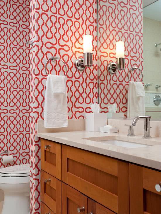 Обои для ванной комнаты 25 | Дока-Мастер