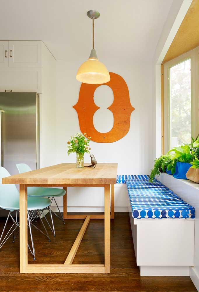 Стол у стены 30 идей для небольшой квартиры 26 | Дока-Мастер