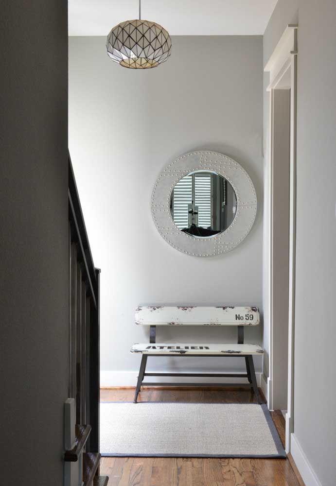 Круглое зеркало в интерьере, как использовать в декоре 27