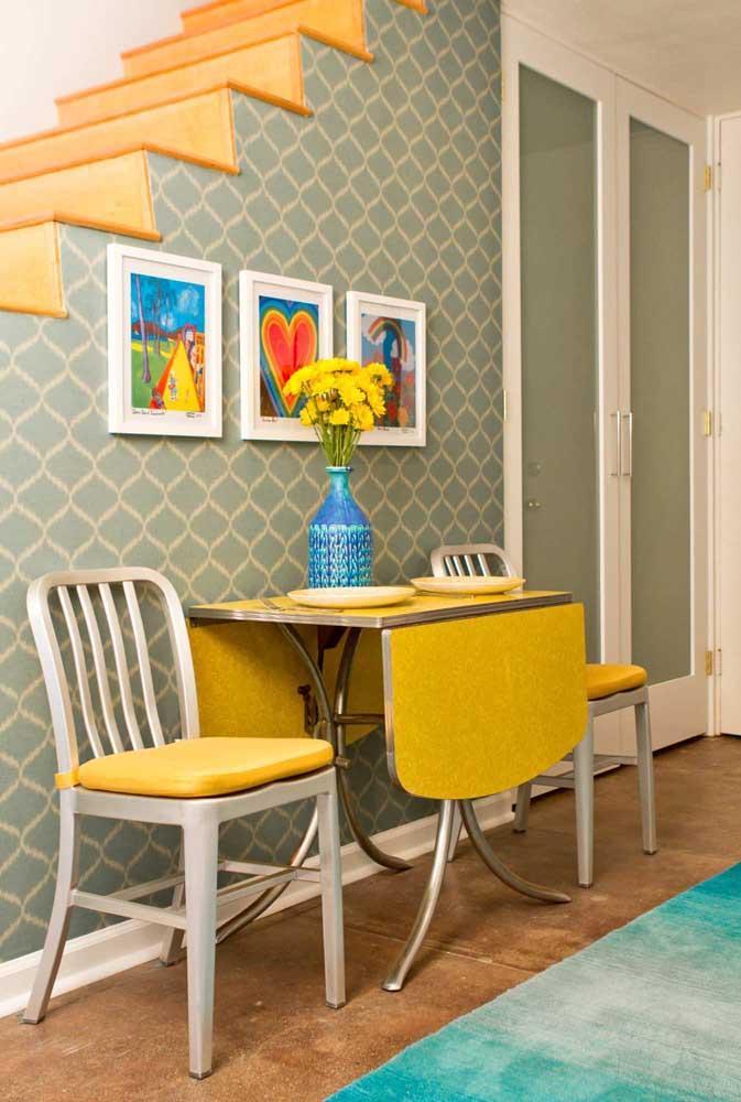 Стол у стены 30 идей для небольшой квартиры 28 | Дока-Мастер