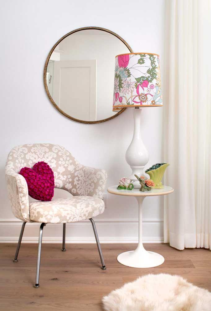 Круглое зеркало в интерьере, как использовать в декоре 29