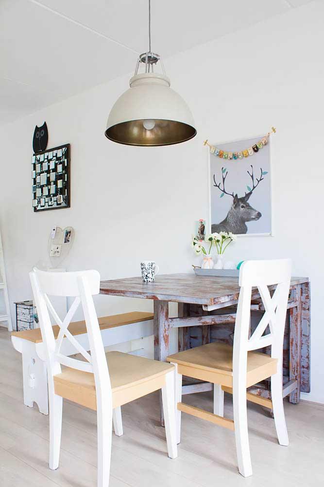 Стол у стены 30 идей для небольшой квартиры 29 | Дока-Мастер