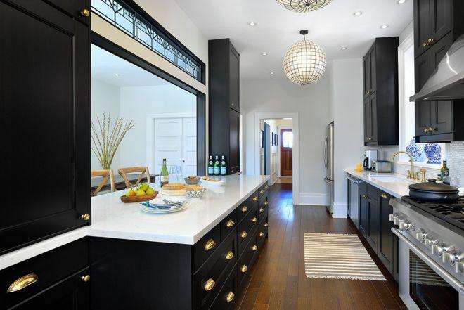 5 узких кухонь, которые действительно работают 3 | Дока-Мастер