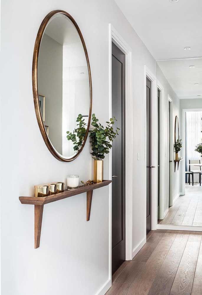 Круглое зеркало в интерьере, как использовать в декоре 04