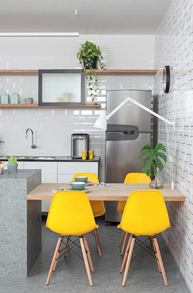 Стол у стены 30 идей для небольшой квартиры 4 | Дока-Мастер