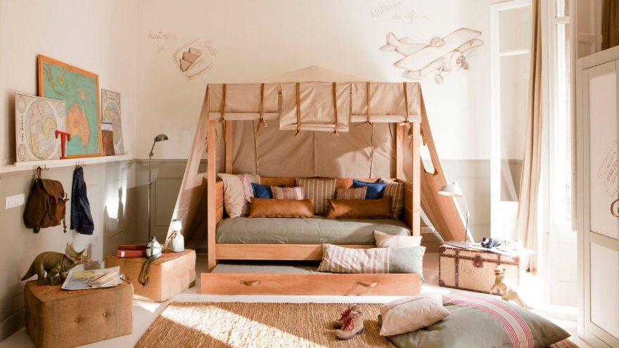 Особенности интерьера детской комнаты 5   Дока-Мастер