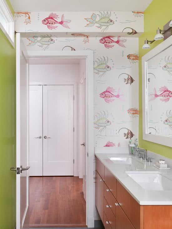 Обои для ванной комнаты 5 | Дока-Мастер