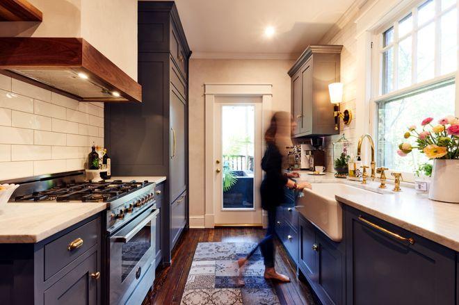 5 узких кухонь, которые действительно работают 5 | Дока-Мастер